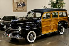 1947 Ford Woody Wagon Crevier 010 by Pat Durkin - Orange County, CA, via Flickr