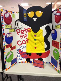Pete The Cat Book Report Projects, Reading Projects, Fair Projects, Book Projects, Science Projects, School Projects, Projects For Kids, Fun Classroom Activities, Kindergarten Literacy