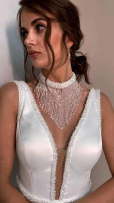 Handmade Dresses, Unique Dresses, Couture Sewing Techniques, Long Sequin Dress, Classic Wedding Gowns, Fashion Silhouette, Stylish Girl Images, Dress Sewing Patterns, Fashion Sewing