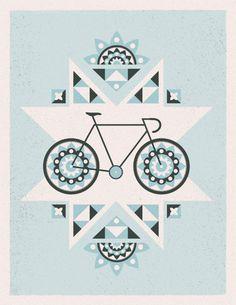 Pretty bike poster