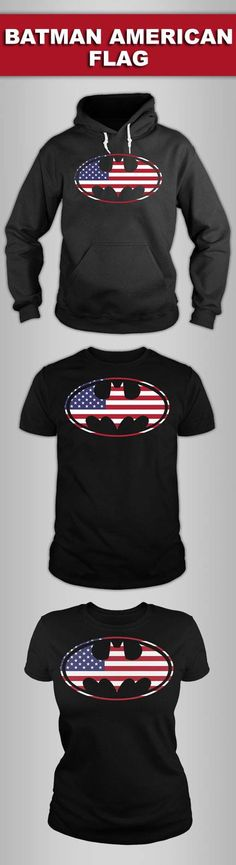 Batman American Flag Shirts! Click The Image To Buy It Now or Tag Someone You Want To Buy This For.  #batman
