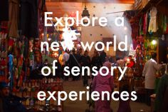 'Explore a new world of sensory experiences' in Morocco with Plan-It Fez. http://www.travelandlust.com/tours/#/tours-plan-it-fez-morocco/ #morocco #tours #travel