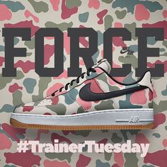 0bd0e8dacd30 Trainer Tuesdays - Nike AF1 Camo Air Force Shoes