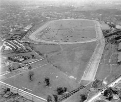 Aerial view, Churchill Downs, Louisville, Kentucky, 1915-20. :: Herald-Post Collection