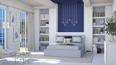 Roomstyler.com - Greek Greek Bedroom, Bookcase, Shelves, Design, Home Decor, Shelving, Decoration Home, Room Decor
