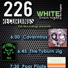 Click here to see special offers and activities from 226 Recordings  Audio Engineering Program for White Linen Night in the Heights http://cmap.it/MOPBUh