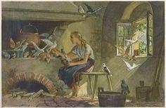 Cinderella -- Aschenputtel -- Paul Hey -- Fairytale Illustration