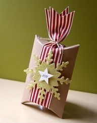 Going to do this for small gifts.