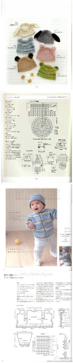 Super Ideas For Crochet Kids Hats Patterns Tutorials Bonnet Crochet, Crochet Cap, Diy Crochet, Crochet Crafts, Crochet Stitches, Crochet Projects, Crochet Kids Hats, Crochet Baby Booties, Crochet Beanie
