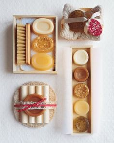 Easy DIY spa gifts and soaps- Martha Stewart