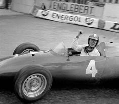 Dan Gurney (USA) (Owen Racing Organisation), BRM P48 - BRM (Monaco 1960)