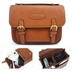Find More Camera/Video Bags Information about High Quality Classic Retro PU Leather Camera Case Bag with Shoulder Strap for Fujifilm Instax Mini 7S 8 25 50S 90 Film Camera,High Quality case esata,China bag notebook Suppliers, Cheap bag monster from GUANGZHOU CRECASE FLAGSHIP STORE on Aliexpress.com