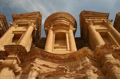 Pictures of Jordan - Petra -the Monastery, Al Deir, a higlight of Nabatean architecture Jerusalem Travel, Pictures Of Jordans, Jordan Petra, City Of Petra, Jordan Travel, Wadi Rum, Lost City, Stars At Night, Roman Empire