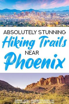 One of our favorite things to do is to go hiking in Phoenix, on one of the many stunning trails that call the city home. Many trails offer jaw-dropping views of Arizona's signature rock formations, the famous saguaro cacti, and the surrounding mountains nearby. If you're looking for the best hikes in Phoenix, our detailed guide to nearby trails has you covered! Hiking Places, Hiking Spots, Go Hiking, Hiking Tips, Canada Travel, Travel Usa, Phoenix Skyline, Hiking Essentials, Hiking Photography