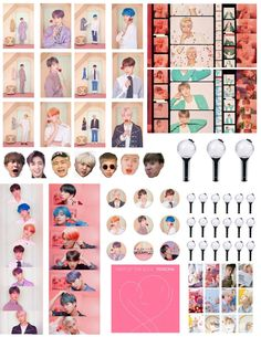 Cute Laptop Stickers, Pop Stickers, Wallpaper Stickers, Bts Wallpaper, Bullet Journal Cover Ideas, Bts Playlist, Kpop Diy, Bts Summer Package, Bts Polaroid