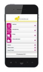 Planungs-Tool Centrocheck von Centrosolar jetzt als App