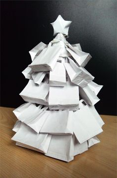 City Inn, London Christmas Tree competition proposal by Di Zhuang, via Behance - canvases?
