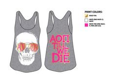 "@Haley McDonald said: ""AOII till we die-- alumni day shirts girls?!"""