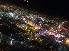 Las Vegas from above...
