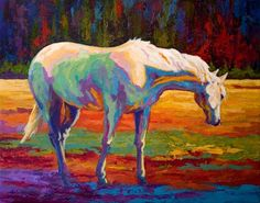 White Mare II~by Marion Rose