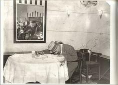 Dutch Schultz Murder Scene | dutch schultz in newark cafe after machine gun attack detectives find ...