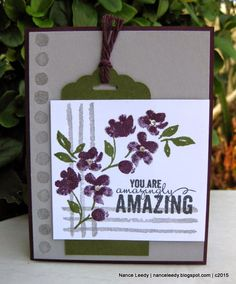 Canopy Crafts: Painted Petals for the Paper Players {PP238}
