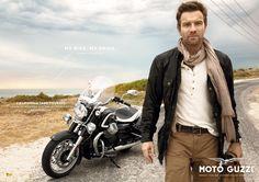 Ewan McGregor and Moto Guzzi California 1400