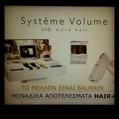 Systeme Volume by Balmain Hair '60% more hair'