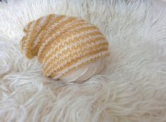 Pair this newborn slouchy with one of my gorgeous yellow layering pieces. Slouchy beanie by MoonlightLittleKnits.