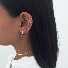 Conch Ear Cuff Gold and Mint Turquoise Dragonfly Wings/cartilage ear cuff climber/ear jacket manchette/fake false piercing/ohr faux piercing - Custom Jewelry Ideas Piercing Anti Tragus, Piercing Snug, Double Ear Piercings, Ear Peircings, Cute Ear Piercings, Piercings Ideas, Ear Piercings Conch, Double Cartilage, Cartilage Piercings