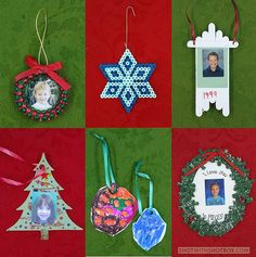 Family Keepsake Christmas Ornaments