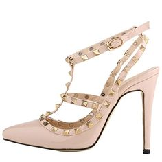 OCHENTA Mujer sandalias de la correa del tobillo del esti…