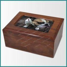 Wooden Pet Urn (Sheesham Wood)