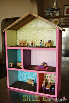 Simple 5 Room Dollhouse for $25 : A How-To