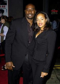 actor Morris Chestnut & wife for 18 years and counting.