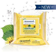 Dickinson's Witch Hazel Cleansing Cloths #FreeSample from #Influenster in the #SunshineVoxBox