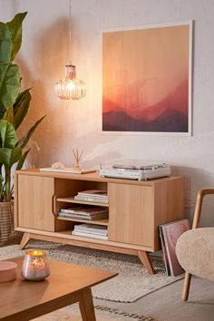 Urban Outfitters Mabel Media Console Found on my new favorite app Dote Shopping Living Room Interior, Home Living Room, Living Room Furniture, Living Room Designs, Home Furniture, Living Room Decor, Dining Room, Apartment Furniture, Accent Furniture