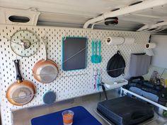 The 9 best camper vans of 2019 Van Conversion Interior, Camper Van Conversion Diy, Van Interior, Van Conversion Plans, Van Storage, Camper Storage, Camper Hacks, Diy Camper, Motor Casa