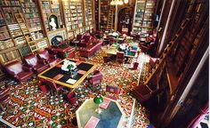 Derby Room, House of Lords Library (London, England)