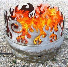Recycling - UpCycling 55 gal Liquid Barrels into useful fire pits, seats, cabinets, yadda yadda yadda ! • •