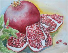 Maria Földy - Granatäpfel
