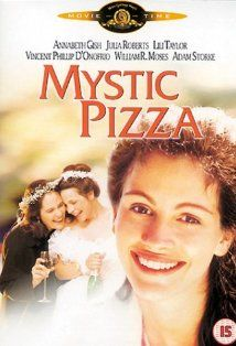 Mystic Pizza (1988) | directed by Donald Petrie | starring Annabeth Gish, Julia Roberts, and Lili Taylor