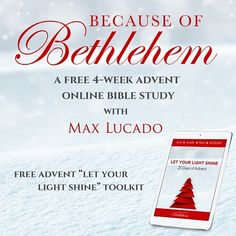 107 best bible study images on pinterest bible studies online watch the because of bethlehem online bible study with max lucado at study gateway this is session one god has a face which will be available for free fandeluxe Images