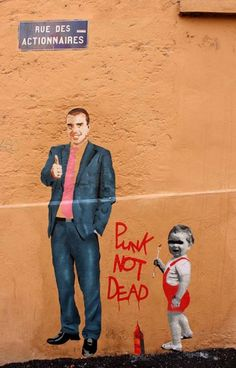 • ARTIST . BIG BEN •  ◦ Punk Not Dead ◦ location: Lyon, France