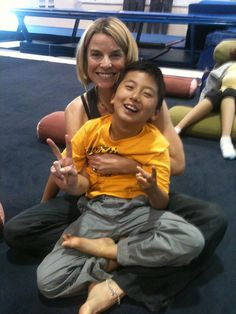 Assisted yoga for cerebral palsy
