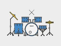 drums illustration