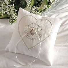 personalised wedding ring pillow by milly and pip. A lovely gift to give to the bride to be. Copyright © milly and pip Mint Wedding Themes, Wedding Matches, Wedding Ideas, Blue Wedding, Wedding Inspiration, Wedding Ring Cushion, Cushion Ring, Cushion Pillow, Cushion Covers