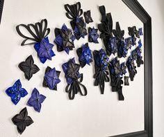 LEATHER Masterpiece FLOWERS 3D SOPHIE MARIONNET STUDIO Hanukkah, Wreaths, 3d, Studio, Flowers, Leather, Design, Home Decor, Bloemen
