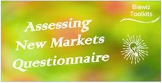 Entering a new market impacts all aspects of your business and needs to be thoroughly researched before making a decision. This questionnaire looks at the areas to explore as you assess new market opportunities. #AssessingNewMarkets Food And Beverage Industry, New Market, Assessment, Infographic, Explore, Marketing, News, Business, Free
