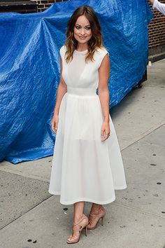 Best Dressed Rebecca Hall in Cline - Derek Blasberg's Best-Dressed List - Harper's BAZAAR
